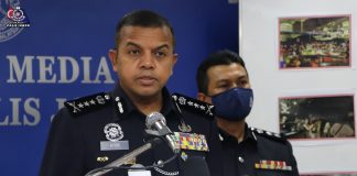 polis rampas dadah