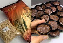 Coklat badam crunchy