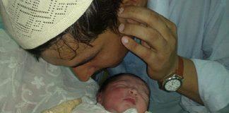azan ditelinga bayi hadis daif
